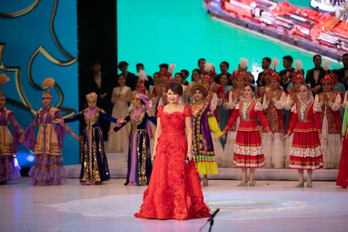 Гала-концерт в рамках закрытия Года Казахстана в Узбекистане