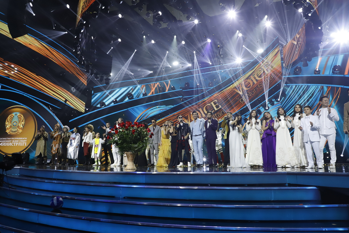 Международный фестиваль эстрадных исполнителей «Voice of Nur-Sultan»